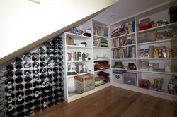 Utilisation of under-stair area to maximise storage space