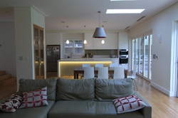 Living area & kitchen addition with quality custom joinery and finishes