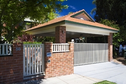 Entrance and garage upgrade in Lane Cove